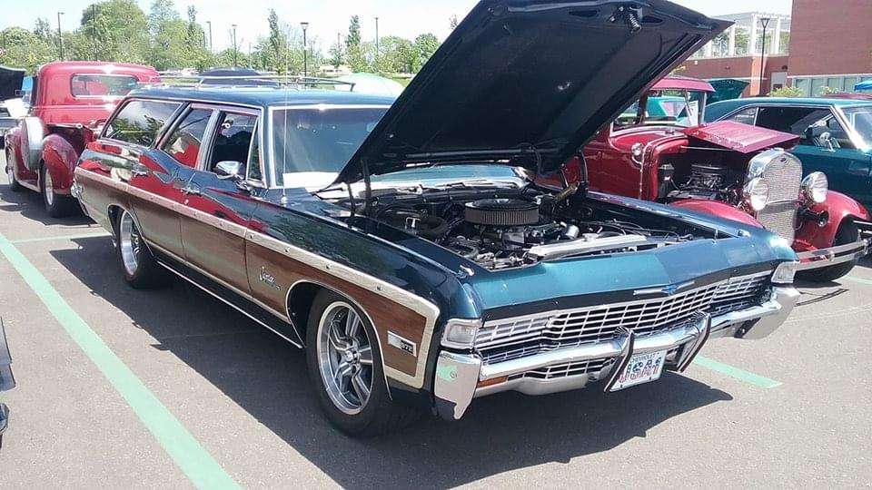 AJ's Car of the Day: 1968 Chevrolet Caprice Estate Wagon | 99.1 PLR