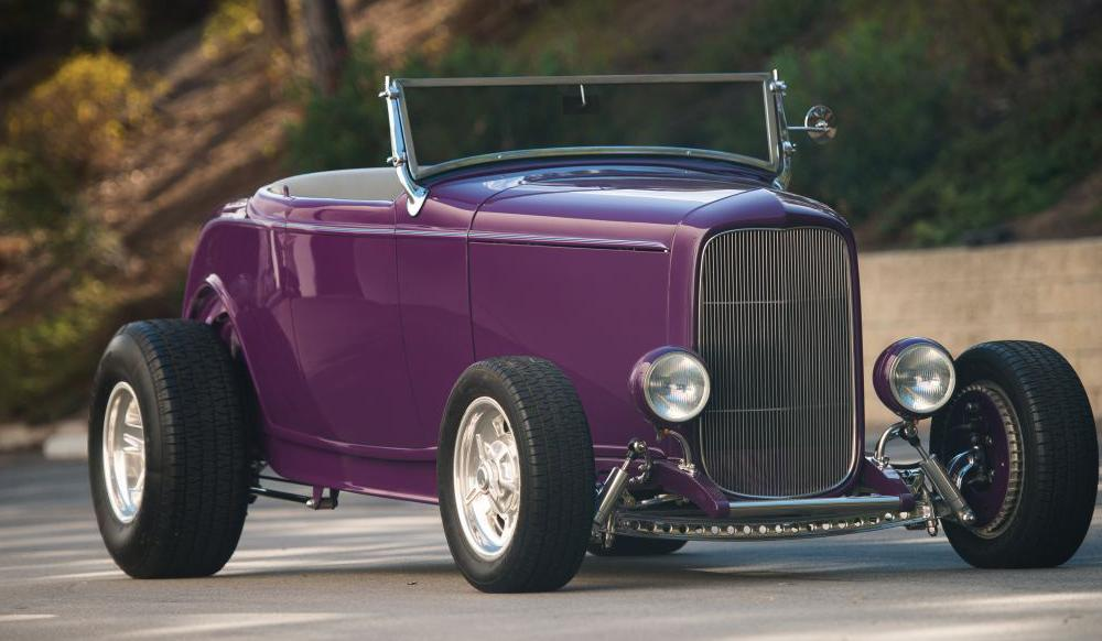 Low-Mileage Ford Street Rod im authentischen 90s-Stil: Purple ...