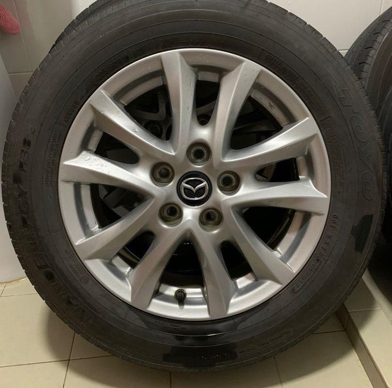 "Mazda 3 original 16"" rims, Car Accessories, Tyres & Rims on Carousell"