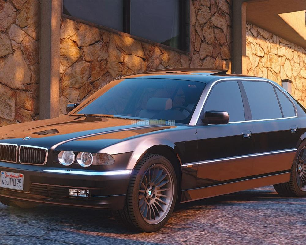 BMW 750iL E38 [Add-On / Replace] - GTA5-Mods.com