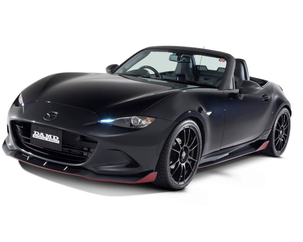 "2016 Mazda MX-5 Roadster ""Dark Knight"" Tuned by DAMD With Carbon ..."