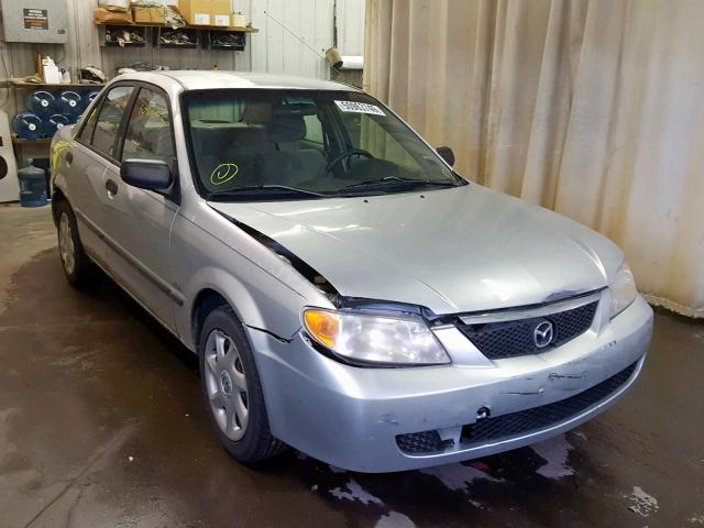 2002 Mazda Protege DX for sale at Copart Avon, MN Lot ...