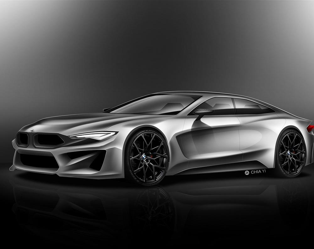 Bmw M7 Concept on Behance