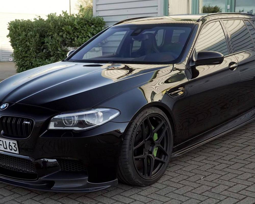 BMW M5 Touring Looks So Good, You'd Swear It's From The Factory