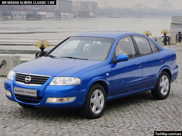 Nissan Almera Classic. Photo. Car Specifications. Automobile ...