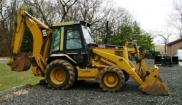 Caterpillar backhoe