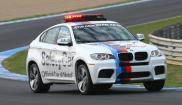 BMW X6 safty car