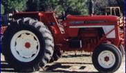 International harvester 574