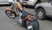 Custom made bike
