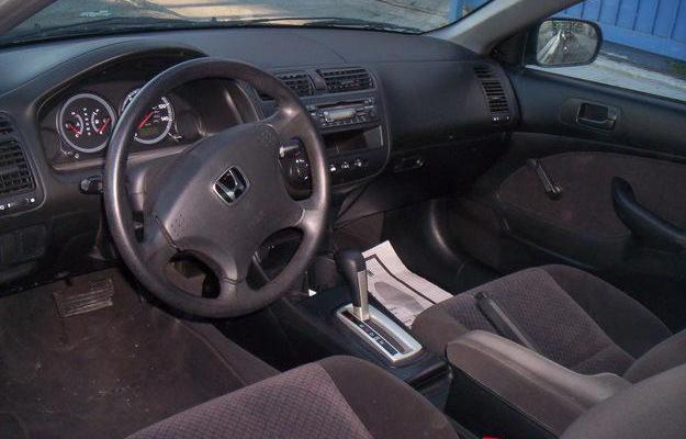 Honda Civic EX 2 dr coupe